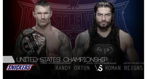 Randy Orton Vs. Roman Reigns wm32