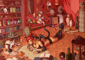 Ko's Study by Zombiesmile
