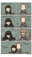 hairy comic