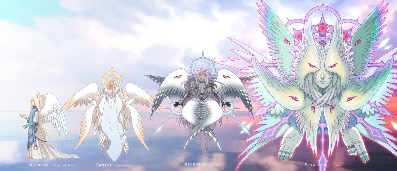 Angelic Ranks: Description, Hierarchy, and How Different Types Different From Each Other 11