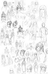 Ru Sketches by Zombiesmile