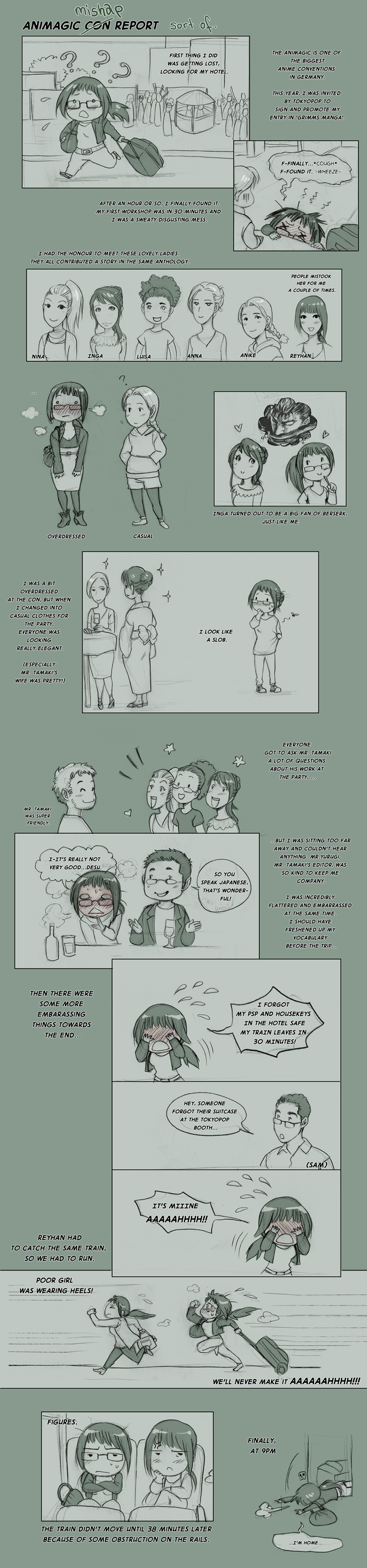Animagic Con Report by Zombiesmile