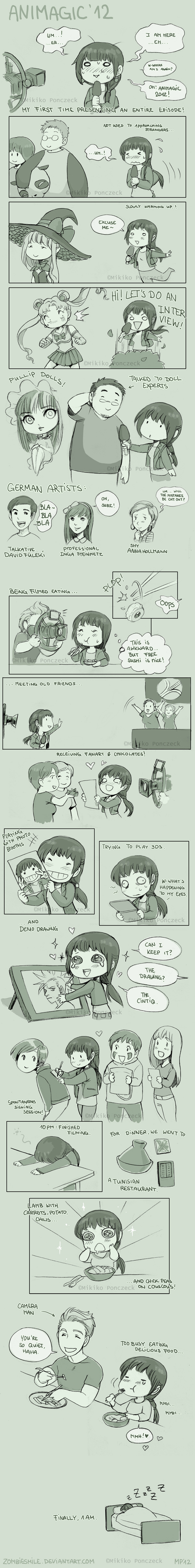 Animagic Con Report '12 by Zombiesmile