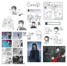 Tumblr Doodles CnB III