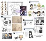 Tumblr Doodles CnB IV
