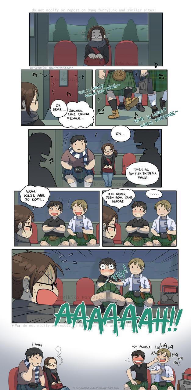 Teenage Trauma by Zombiesmile