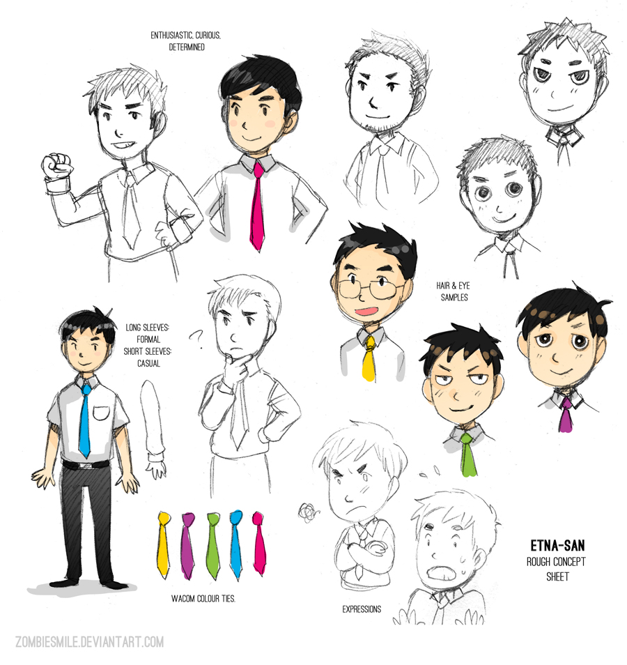 Wacom Concepts by Zombiesmile