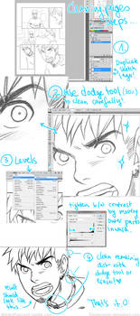 Sketch to Inks Tutorial (Photoshop)