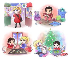 Berli and Brandi's Christmas by Zombiesmile