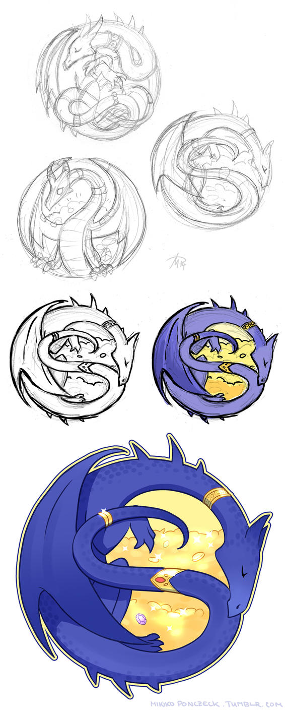 Dragon Logo by Zombiesmile
