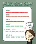 Conventions 2014 -updated!- GAMESCOM