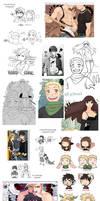Tumblr doodles CnB XI