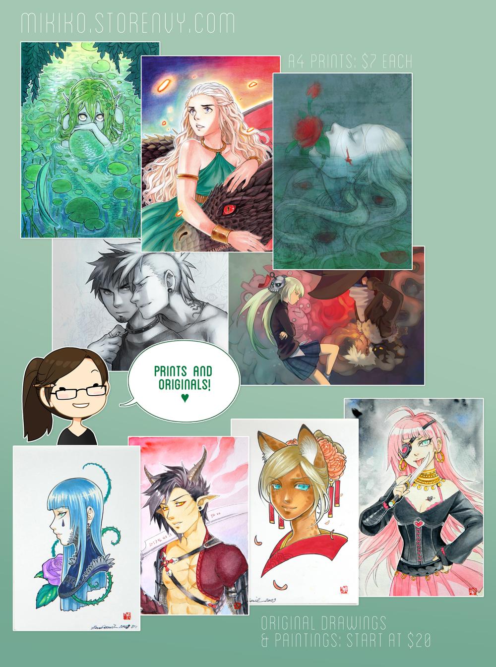 Mikiko's Printshop by Zombiesmile