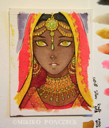 Indian Bride by Zombiesmile