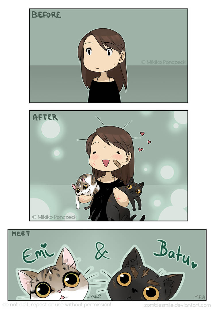 Kittens! by Zombiesmile