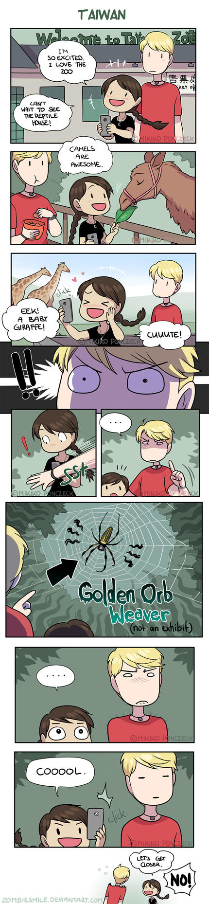 Spider Senses! by Zombiesmile