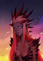 Red Dragon Queen