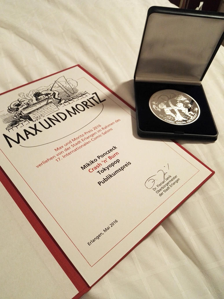 Max und Moritz award (WE DID IT!) by Zombiesmile on DeviantArt