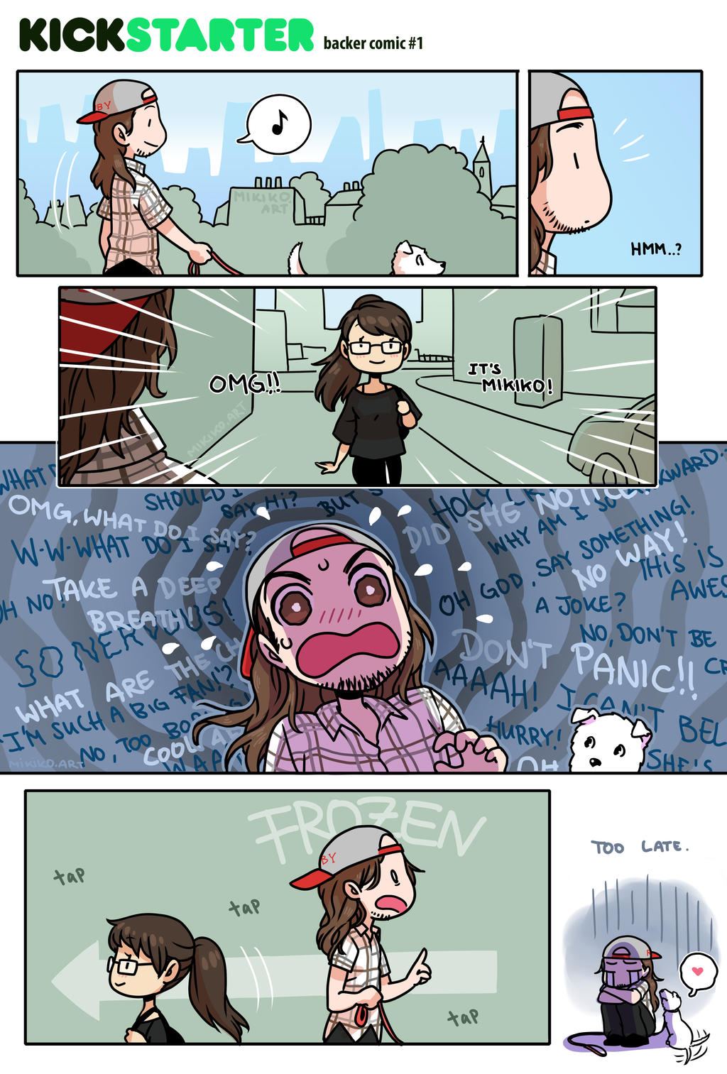 Chance encounter - KS by Zombiesmile