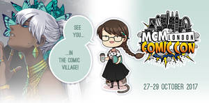 Going to MCM LONDON Oct. 2017