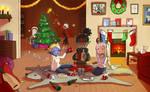 Merry Critmas! DnD art