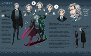 Gregor Gregorovic - Refsheet by Zombiesmile