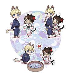 Matsuri Meow by Zombiesmile