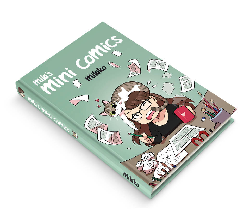 Mini-comics Mockup Original by Zombiesmile