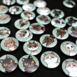 Cat magnets!