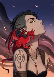 Draconic Sorceress