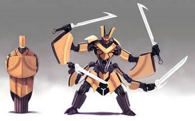 4 Arms by raipai
