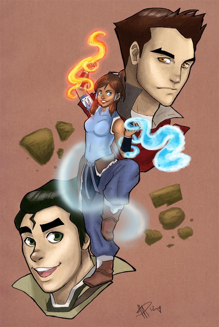 Avatar Korra by mallettepagan0