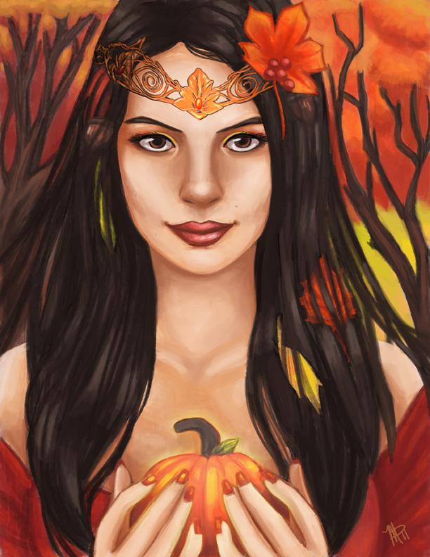 Игровой автомат Autumn Queen (Осенняя Королева) играть в казино Вулкан Платинум