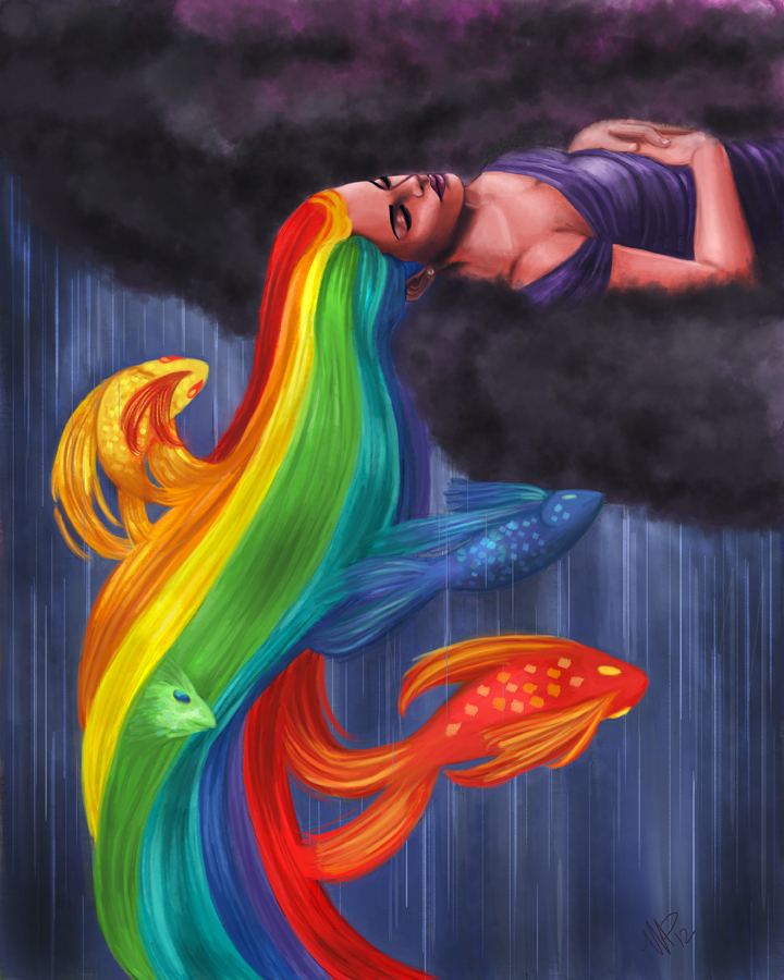Rainbow fish by mallettepagano1 on deviantart for Rainbow fish pictures