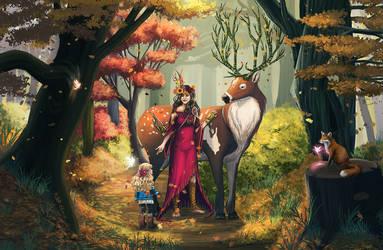 Autumn Forest by mallettepagan0