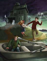 Haunted House Island by mallettepagan0