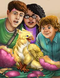 Baby Griffin by mallettepagan0
