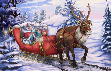 Snow Ride by mallettepagan0