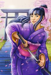 Kamiya Kaoru by mallettepagan0