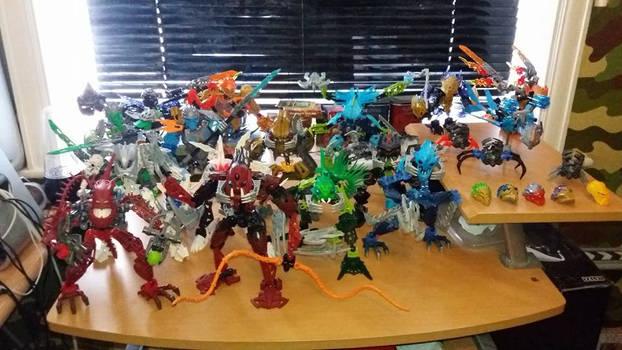 My Bionicle collection - 16 and counting