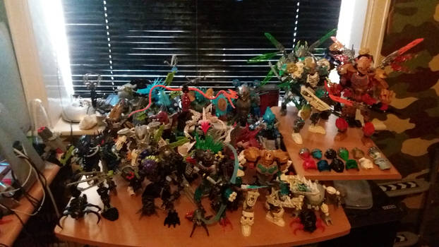 My Bionicle collection - 28 and counting