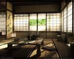 Japan Room - final 3d render