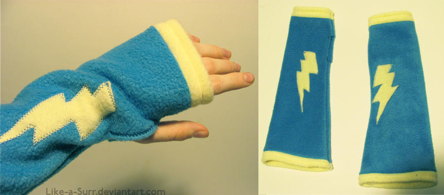 Wonderbolts Fingerless Gloves (2013) by Like-a-Surr