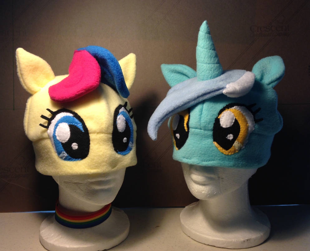 Bonbon and Lyra Hats