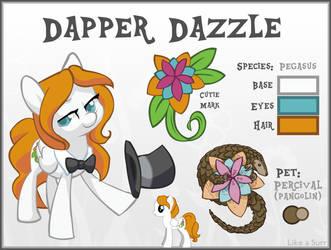 Dapper Dazzle - OC Pony