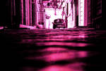 Living street (Magenta tone) by naraphoto
