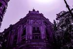 Playhouse building (Magenta tone) by naraphoto