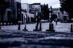 Entering Old City (Baku-Monochrome)