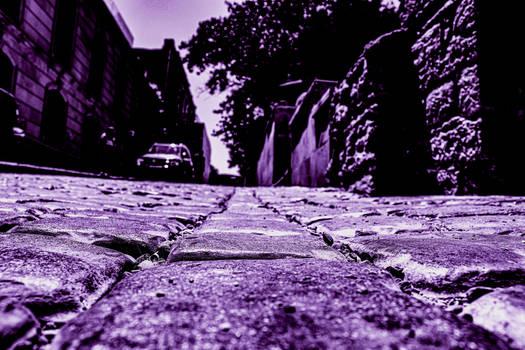 Old city Street (Magenta edition)