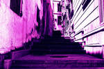 Stairs In Old City New Photoart by naraphoto